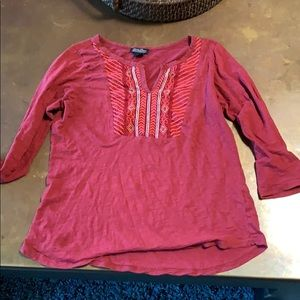 Lucky Brand Tops - Red blouse